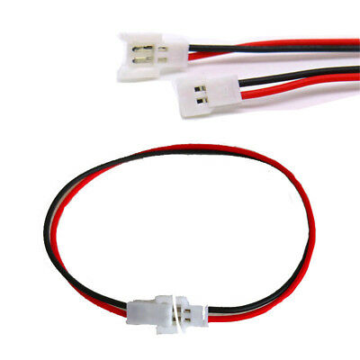 JST-DS LOSI 2.0mm 2-Pin Connector Wire (Male to Female) | RC-N-Go
