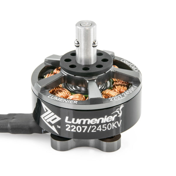 Lumenier ZIP 2207 / 2450kv / 4-5S Brushless Motor (POPO Compatible) | RC-N-Go