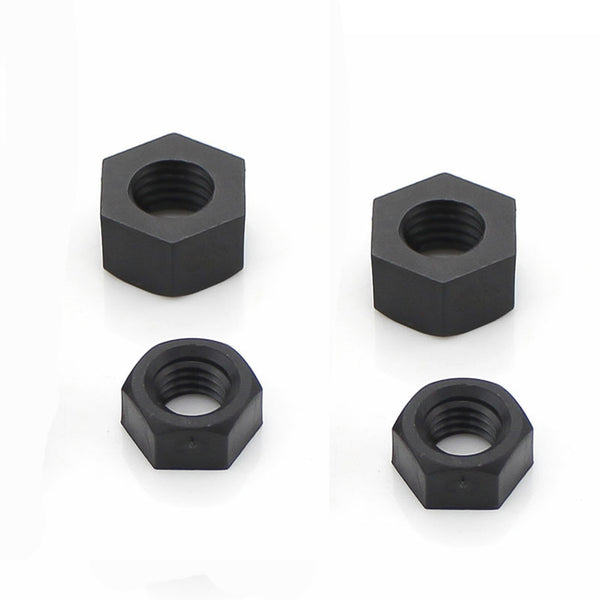 M3 Nylon Nuts (4pcs / Black) | RC-N-Go