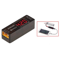 Portable Lipo to USB Charger/Battery Tester (XT60 to USB) | RC-N-Go