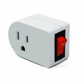 Grounded AC Power Wall Outlet (3 Prong / On and Off Switch) | RC-N-Go