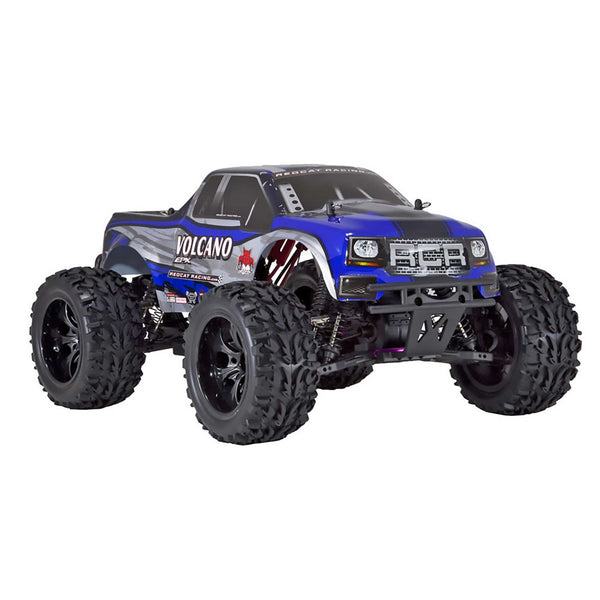 RedCat Volcano EPX 1/10 Brushed Electric Monster Truck (Blue)