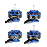Racerstar 1103B / 10000KV 1-2S Brushless Motor / Set of 4 | RC-N-Go