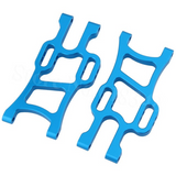 Aluminum Front and Rear Lower Arms for RC Truck (1 Pair / Front or Rear / Blue)