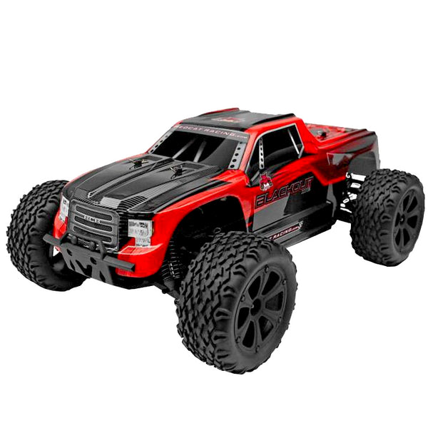 Redcat 1/10 Blackout XTE 4WD Electric Monster Truck (Brushed / Red / RTR) | RC-N-Go