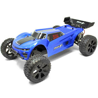 Redcat 1/10 Piranha Electric Truggy (Brushed / Blue / RTR) | RC-N-Go