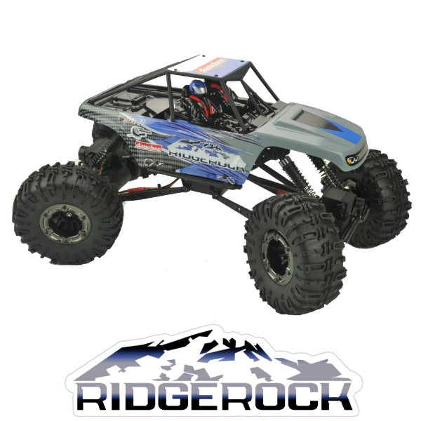 RedCat 1/10 Danchee RidgeRock 4WD Electric Rock Crawler (Brushed / Blue / RTR) | RC-N-Go