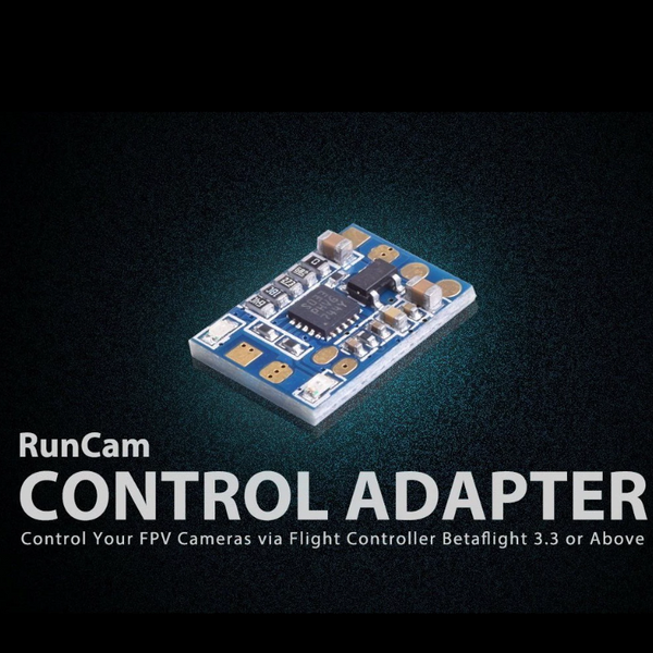 RunCam Control Adapter (Adjusts Camera Settings on OSD) | RC-N-Go