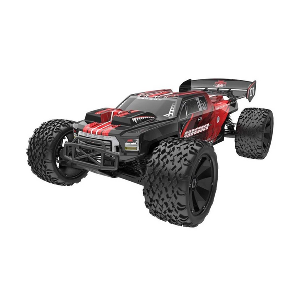 Redcat 1/6 Shredder XTE 4S Electric Monster Truck (Brushless / Red / ARR) | RC-N-Go