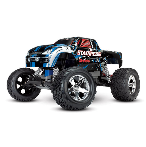 Traxxas 1/10 Stampede 2WD Electric Monster Truck (Brushed /ARR / Multiple Colors) | RC-N-Go