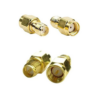 Antenna Adapters (Straight / RP-SMA Male to SMA Female or SMA Male to RP-SMA Female) | RC-N-Go