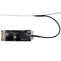 TBS Micro Crossfire Receiver V2 (Servo Adapter Included) | RC-N-Go