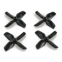 HQProp Micro 1.2X1.3 4-Blade Propellers (31mm / 0.8mm Shaft / Black)