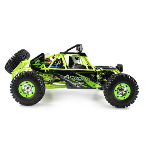 WLToys 1:10 RC Off-Road Truck (2.4GHz / 19mph / Green) | RC-N-Go