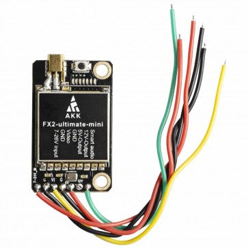AKK FX2 Ultimate Mini 5.8GHz Video Transmitter (20x30mm / 25-1000mW / MMCX to SMA) | RC-N-Go