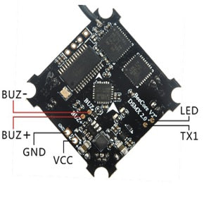 HappyModel Beecore v2 Brushed Flight Controller (DSM2/DSMX + OSD) | RC-N-Go