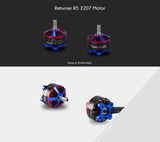 BrotherHobby Returner R5 2207 / 1750kv or 2500kv / 4-5S Brushless Motor | RC-N-Go