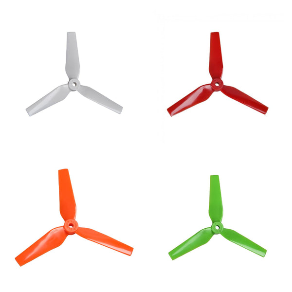 "Dalprop T5044 Trapezoid 5"" Tri-Blade Propellers (Multiple Colors) 