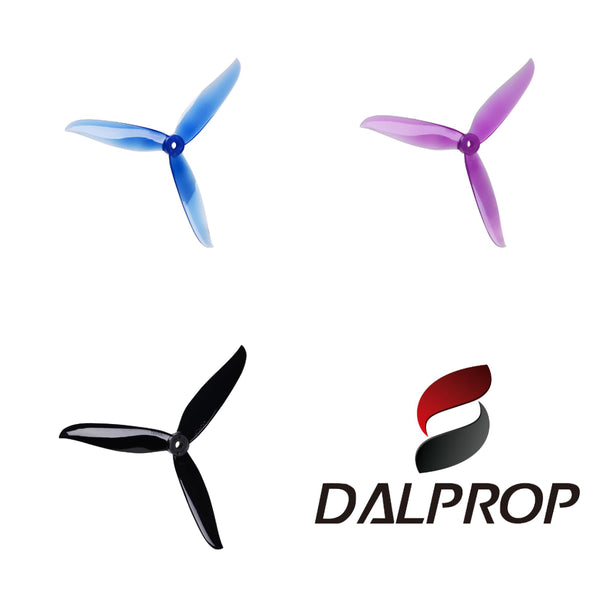 "Dalprop T6040C Cyclone 6"" Tri-Blade (Multiple Colors)"