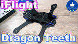 "iFlight Dragon Teeth Low Rider Carbon Fiber Frame Kit (5"" - 220mm) 