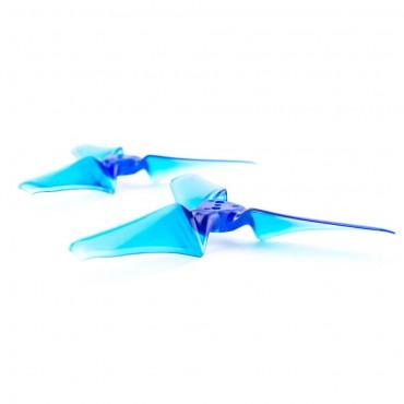 Emax Avan 3x2.4 Tri-Blade Propellers (1 Set / Clear, Blue or Black) | RC-N-Go
