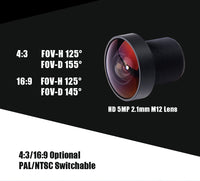 Foxeer Razer Mini FPV Camera (2.1mm Lens / CMOS / Black) | RC-N-Go