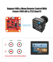Foxeer Razer Mini FPV Camera w/ OSD (2.1mm Lens / CMOS / Black) | RC-N-Go