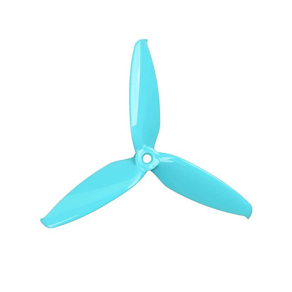 GemFan Flash 5552 3-Blade Propellers Light Blue Turquoise