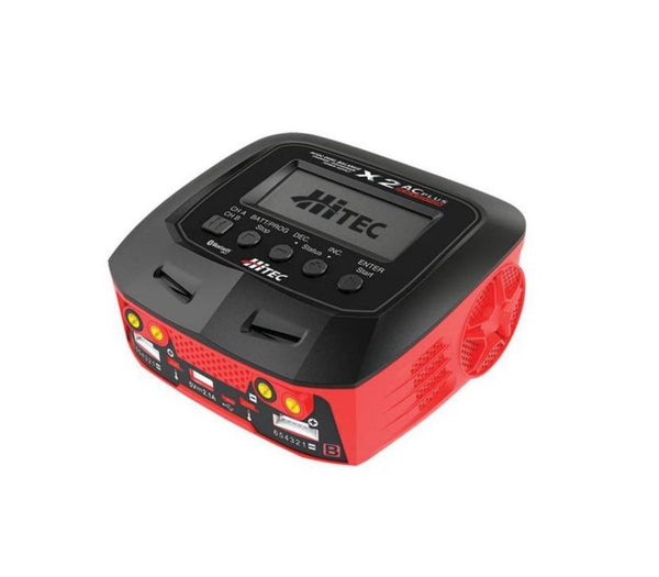 "Hitec X2 AC Plus ""Black Edition"" Multi-Function AC/DC Charger - rc-n-go"