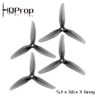 HQProp DP 5.1X3.6 3-Blade Propellers (POPO / Multiple Colors) | RC-N-Go