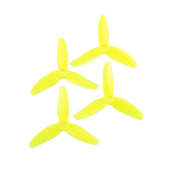 HQProp DP 3x3 3-Blade Propellers (Yellow)