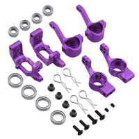 Aluminum Steering Hub Mount Upgrade Kit (Multiple Colors) | RC-N-Go