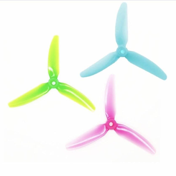 HQProp V1S 5X4 3-Blade Propellers (Multiple Colors) | RC-N-Go