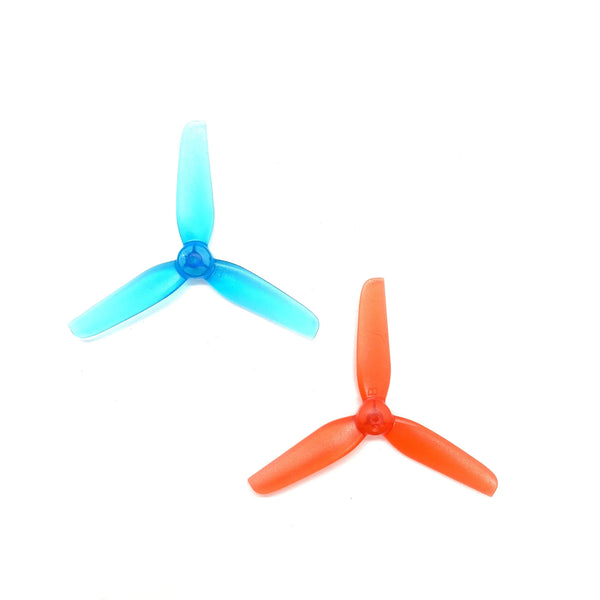 HappyModel 65mm 3-Blade Propellers (1.5mm Shaft / Multiple Colors) | RC-N-Go