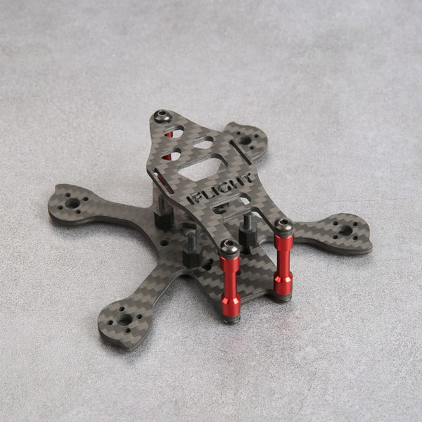 "iFlight iX2 Tiny v2 Carbon Fiber Frame (1.5"" - 90mm) 