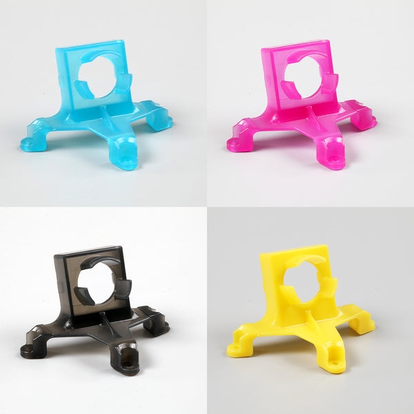 NBD BeeBrain Camera Mount (Blue, Yellow, Pink & Black) with Bonus Camera Bands - rc-n-go