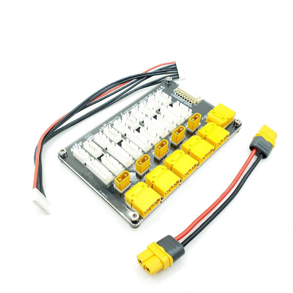 XT30/XT60 Parallel Balance Charging Board for LiPo Batteries (STP S4 / 2-6S / XT60 for Main Plug)