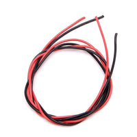 Wire Silicone Rubber Cables (Red & Black - Cut to Size) (12 to 24-AWG) | RC-N-Go