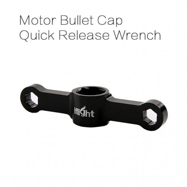Bullet Wrench Quick Release Tool for Hex Nuts (Black) | RC-N-Go