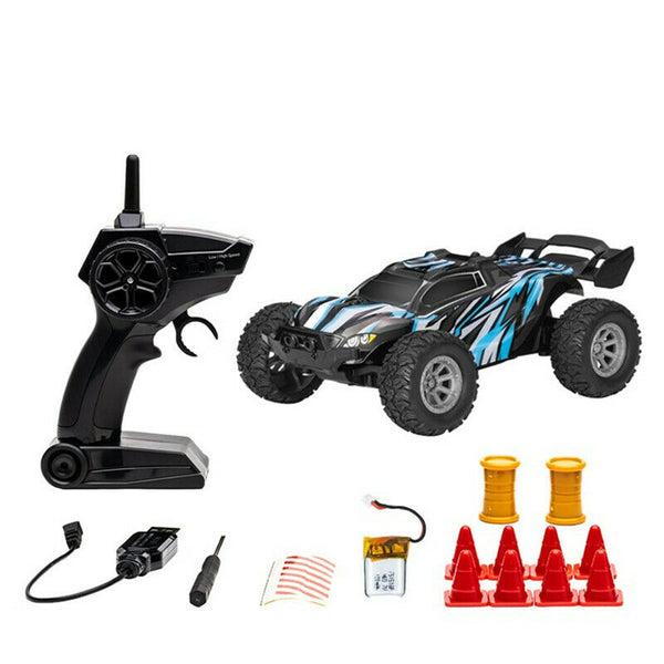 Micro RC Car 1/32 Scale (Brushed / Blue / RTR) | RC-N-Go