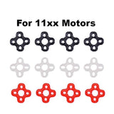 TPU Motor Mount Dampener for 11xx Motors (Set of 4 / Black, Clear or Red) | RC-N-Go