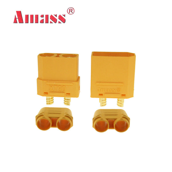 Amass XT90 Connector (1 pair) | RC-N-Go