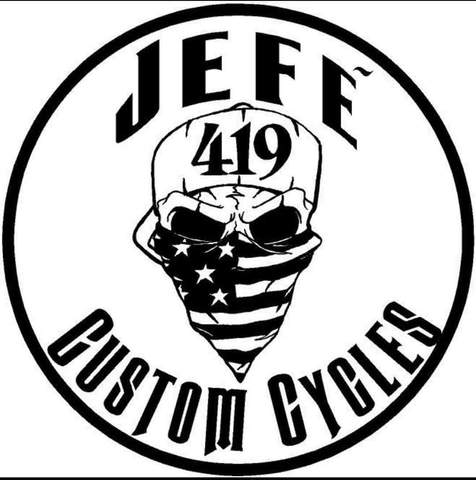 JEFE Custom Cycles Subwoofer Rings — RHYNO CAR AUDIO