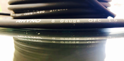 Rhyno 8G Twisted OFC Power Cable(By the Foot)