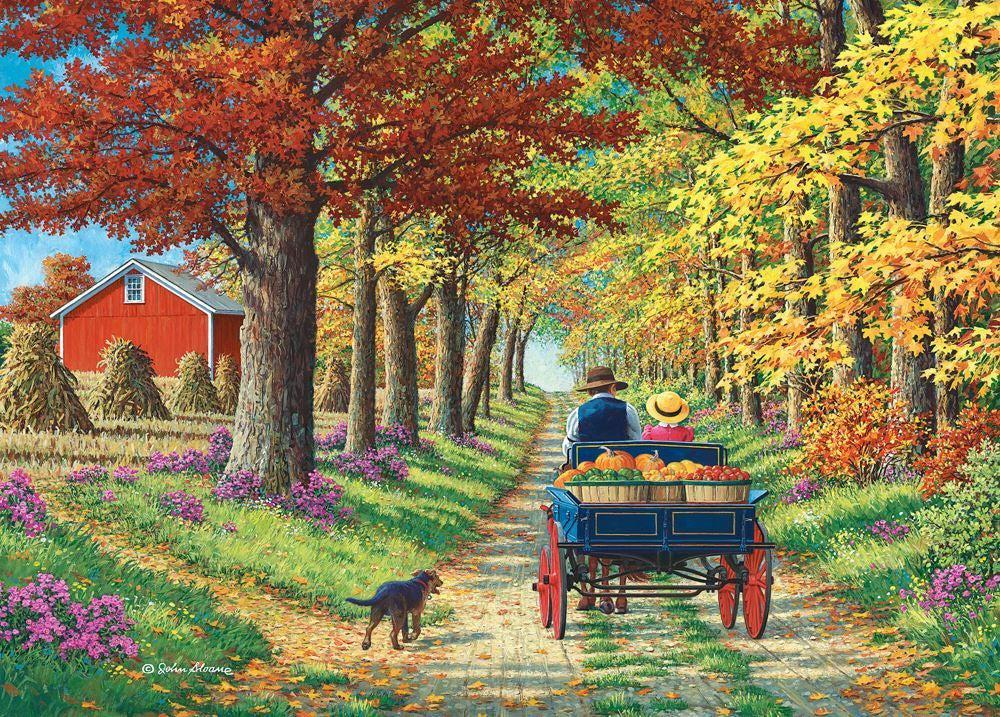 Shady Lane | 1000pc Puzzle-Holdson's-Game Kings