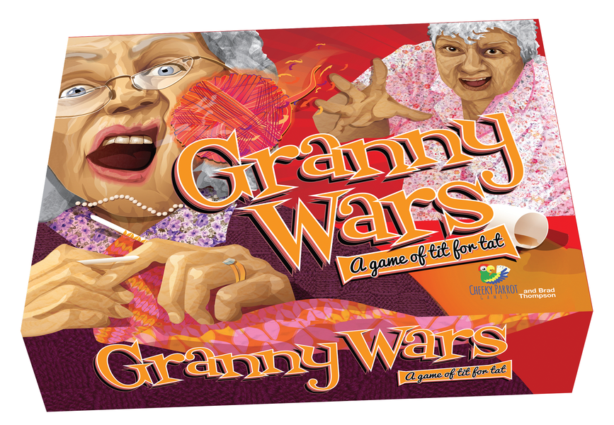 Granny Wars-Cheeky Parrot-Game Kings