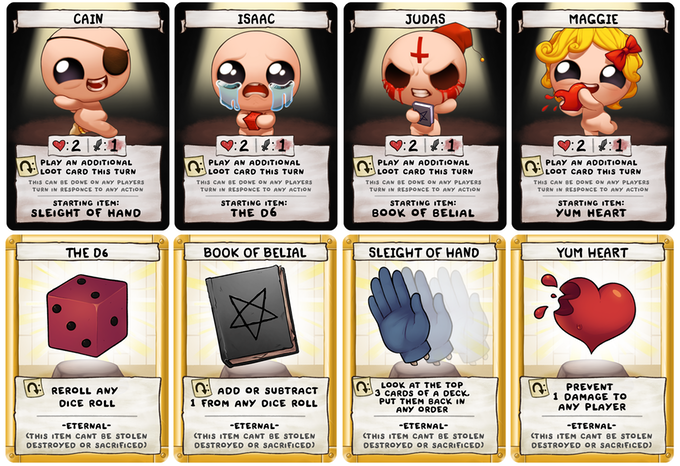 The Binding of Issac - Four Souls-Studio 71-Game Kings