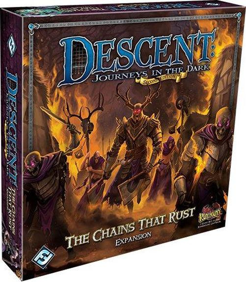 Descent - Chains that Rust Expansion-Fantasy Flight Games-Game Kings