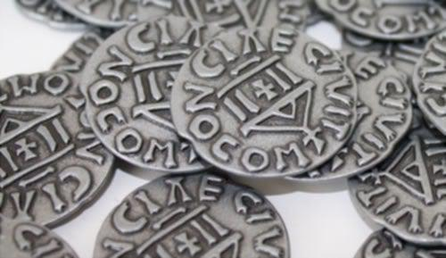 West Kingdom Metal Coins (Accessory)-Renegade Game Studios-Game Kings