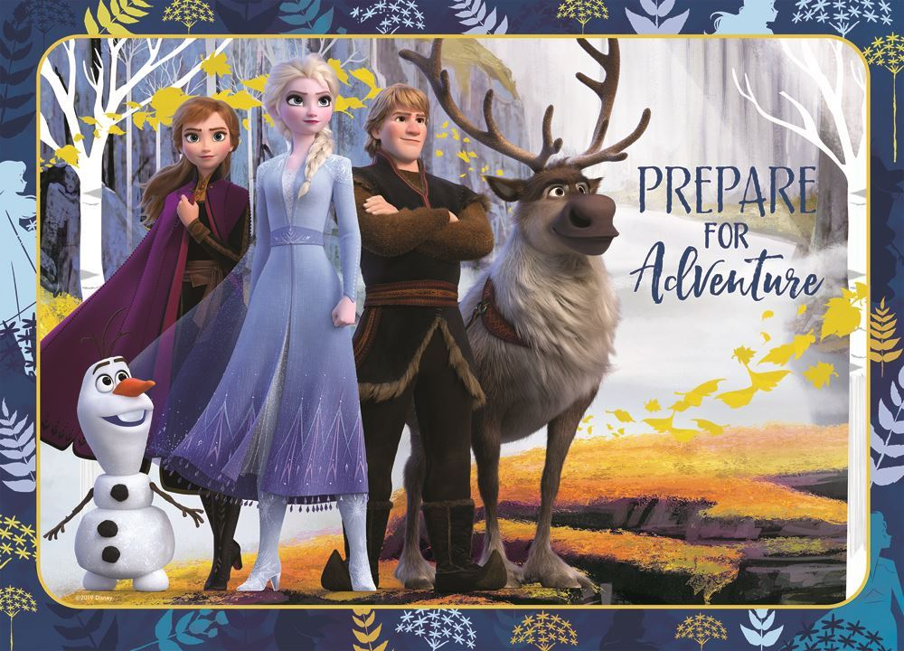 Frozen 2 | 35pc Puzzle - Assorted Designs-Holdson's-Game Kings
